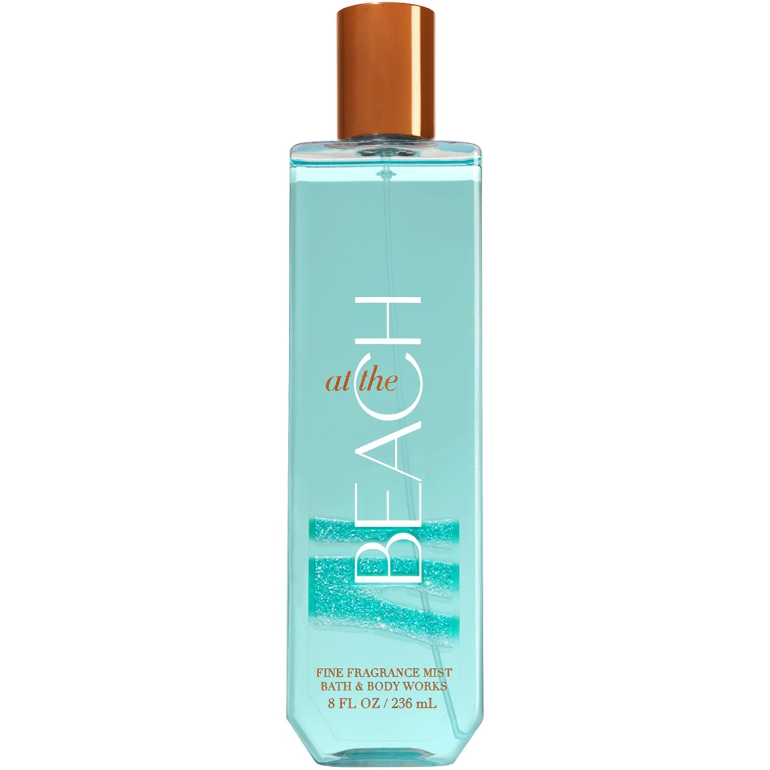 Bath and Body Works Fine Fragrance Mist 8 Ounce At The Beach Full Size Spray