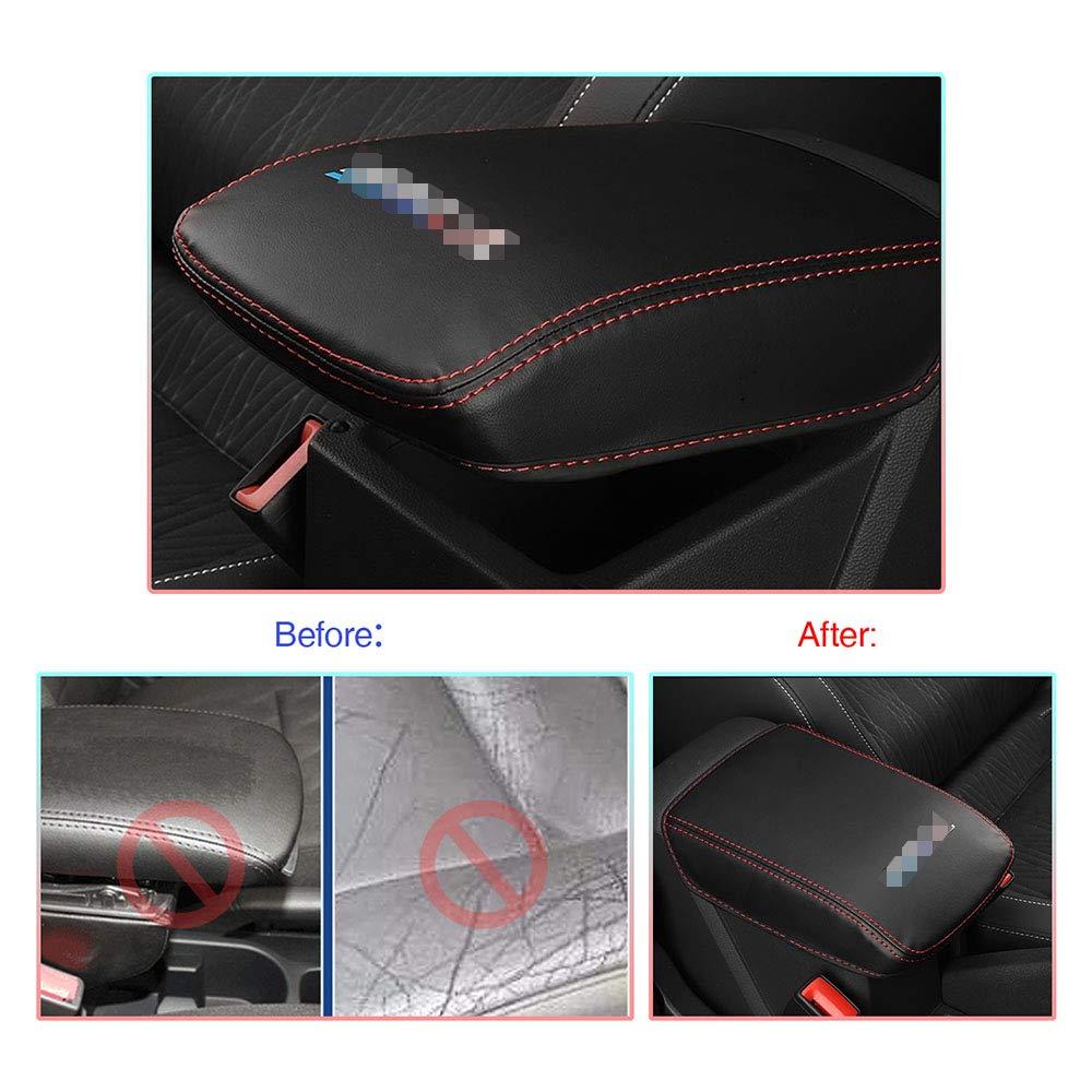 CDEFG per V W T-Cross Coperchio di protezione della scatola del bracciolo per parti auto Guscio decorativo del bracciolo della impermeabile e indossabile