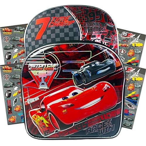 Disney Boys' Cars Backpack, RED/BLUE ()