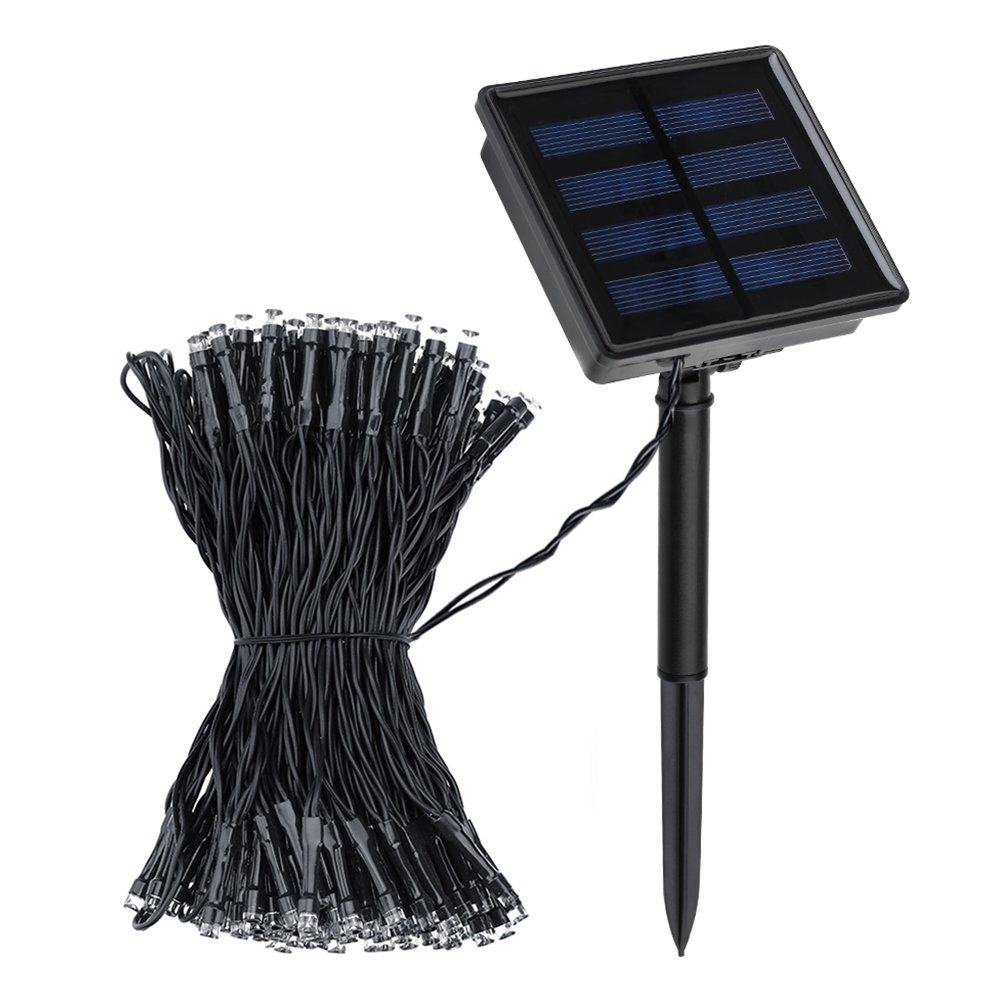 Litom Solar Outdoor 200 Led String Lights 72.18 Ft Solar Powered Waterproof D.. 14