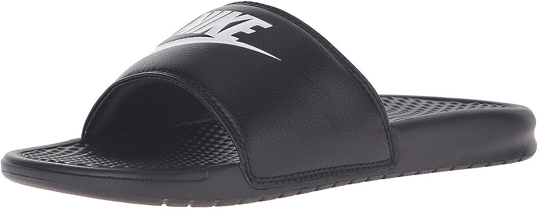   Nike Men's Benassi Just Do It Athletic Sandal   Sandals