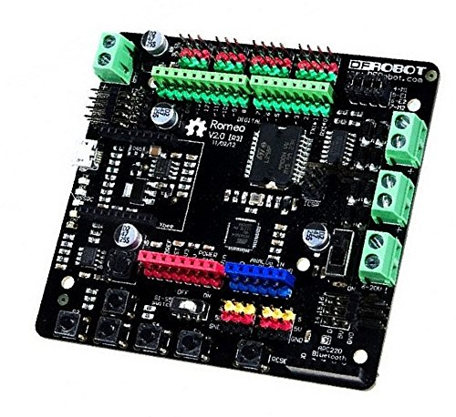 Romeo V2-All In One Controller /Romeo V2 [R3] Is An All-In-One Arduino Compatible Microcontroller Especially Designed For Robotics Applications, And Extended Devices by DF MAKER