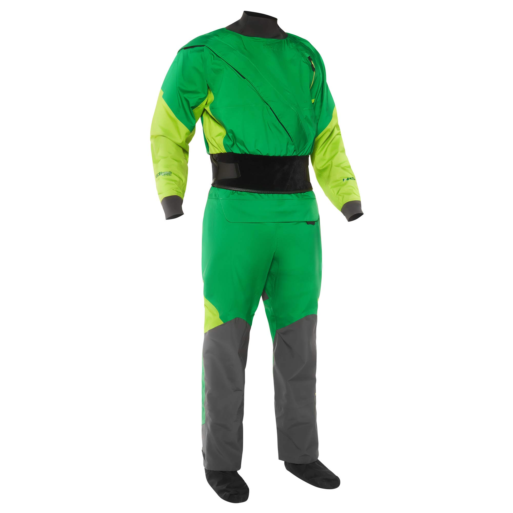 NRS Crux Drysuit - Men's Fern Medium