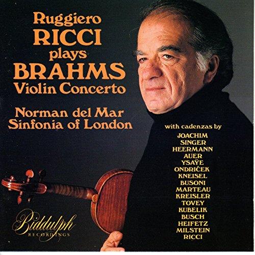Ruggiero Ricci Plays Brahms: Violin Concerto & Cadenzas ()