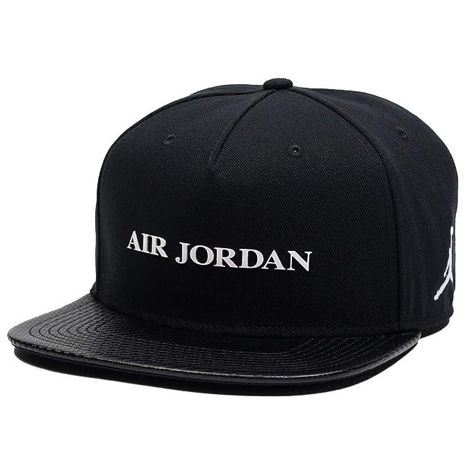 12313762c Nike Mens Jordan Jumpman PRO AJ10 Cap 894673-010 - Black/White ...
