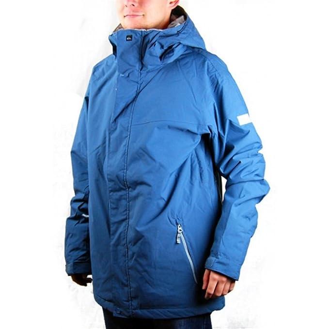 Quiksilver chaqueta de esquí de Mission - azul petróleo, hombre, color azul, tamaño large: Amazon.es: Ropa y accesorios