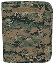 Marpat Digital Woodland USMC Zippered Padfolio