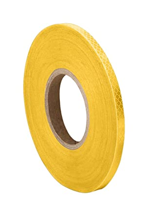 TapeCase 3430 1.625 x 50yd White Micro Prismatic Sheeting Reflective Tape Converted from 3M 3430 1.625 x 50 yd.