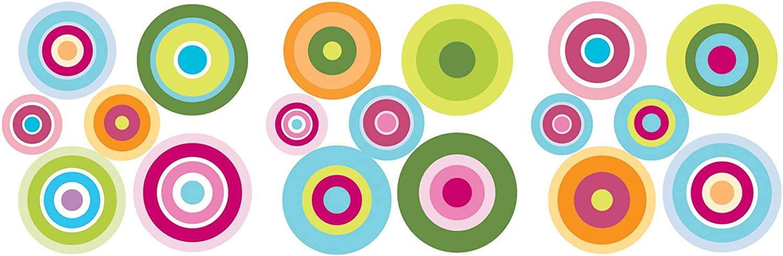 Fun4Walls WS12494 WS12494 Candy Dot Wall Stickers