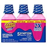 Pepto Bismol Max Liquid Triple (Pack of 6)