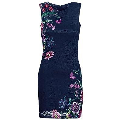 d4976245c Desigual - Robe - Femme Bleu Marine: Amazon.fr: Chaussures et Sacs