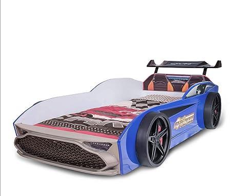 GT18 Infantil para Coche Cama Turbo 4 x 4 en Azul