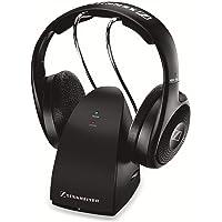Sennheiser RS 118-8 Ohraufliegend Kopfband Schwarz - Kopfhörer (Ohraufliegend, Kopfband, Verkabelt & Kabellos, 22-18500 Hz, 104 dB, Schwarz)