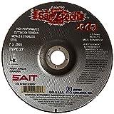 United Abrasives-SAIT 23337 Type 27 7-Inch x .045-Inch x 7/8 Z-Tech High Performance Cutting Wheel, 50-Pack