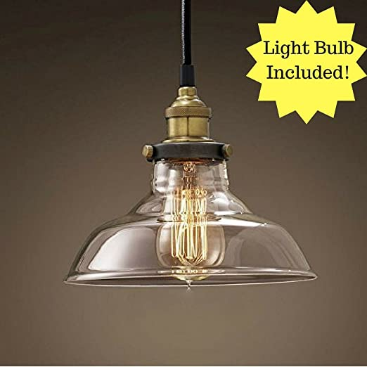 Retro dig industrial vintage style light fitting glass ceiling retro dig industrial vintage style light fitting glass ceiling pendant lamp shade light lighting for aloadofball Image collections