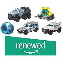 (Renewed) Jurassic World Diecast 5-Pack Car Assortment