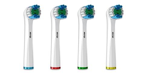 Lote de 8 cabezales de recambio para cepillo de dientes compatibles con Oral B Precision Clean