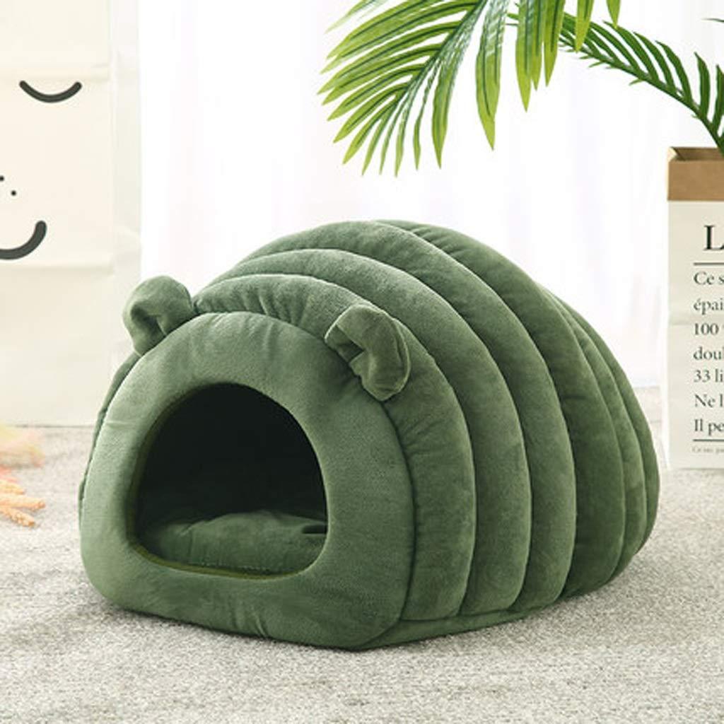 A YJWOZ Cute Cartoon Animal Pet Nest, Four Seasons Universal Pet Sleep Cage  Washable pet bed (color   A)