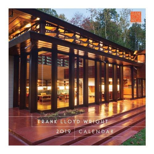 Frank Lloyd Wright 2019 Wall Calendar