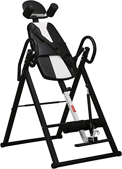 Inversion Table Back Therapy Fitness Pain Hang Gravity Relief Heavy Duty Lumbar