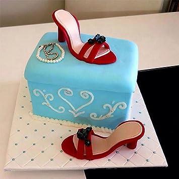 mkqpower 7 stampo per dolci, in plastica, a forma di scarpa-stampo ... - Dolci E Decorazioni Graziano