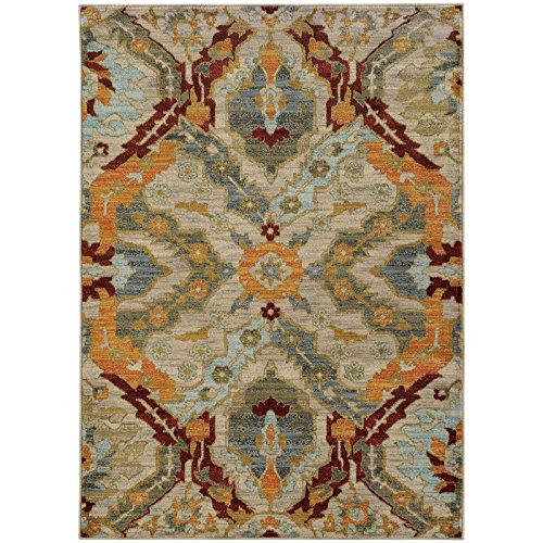 Oriental Weavers 6357A Sedona  Area Rug, 7'10 x 10'10