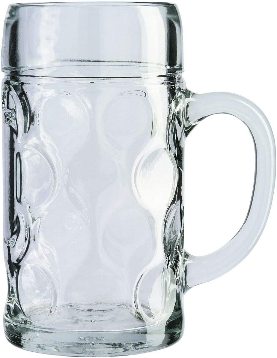 Stölzle Isar - Jarra de cerveza (1 L)