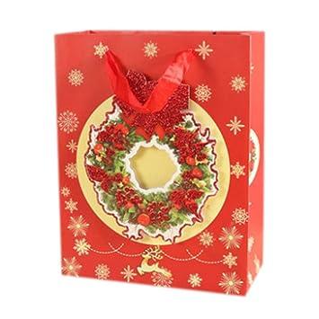 Blancho Bedding 6 Piezas [C] Bolsas de Regalo de Navidad ...