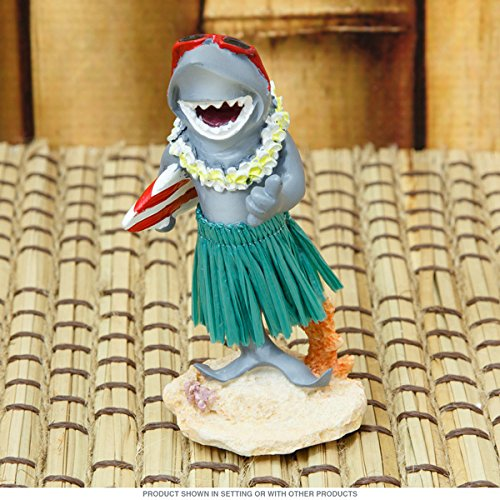 Hawaiian salpicadero en Miniatura mu/ñeca Shark con Tabla de Surf