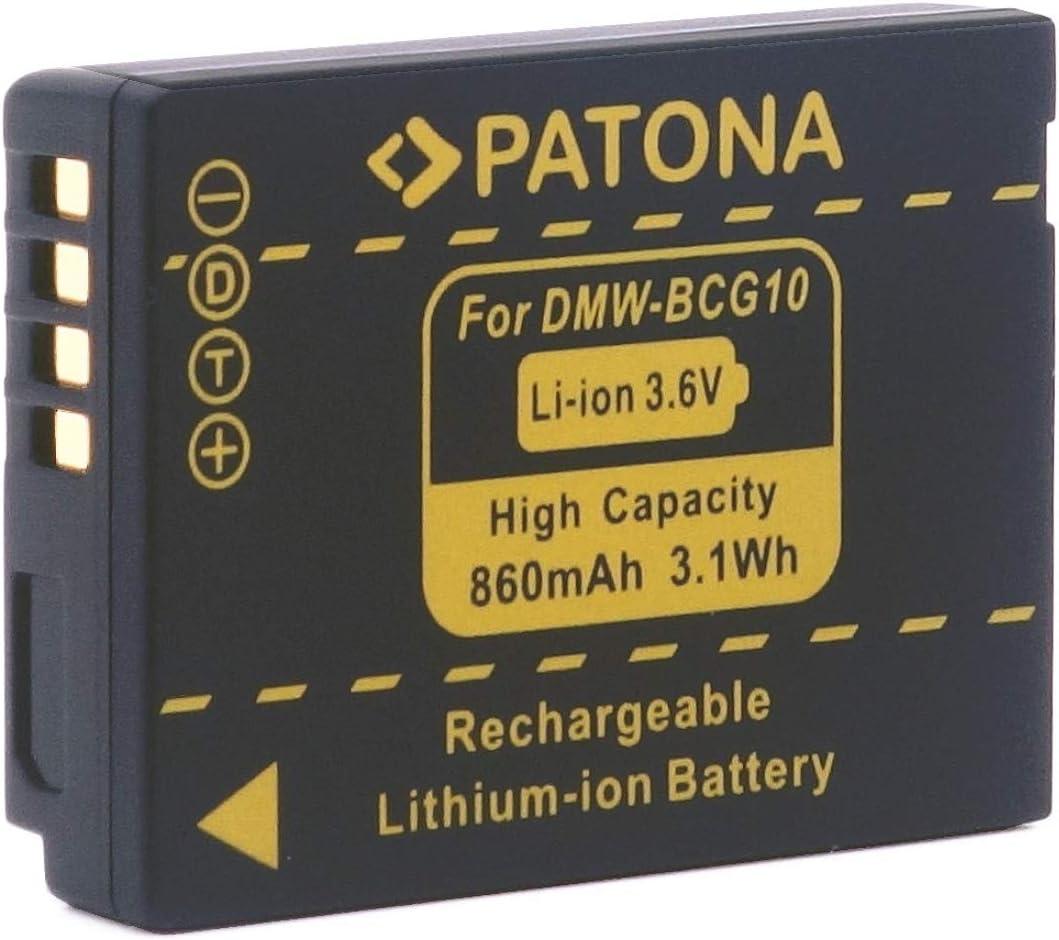 Patona Ersatz Für Akku Panasonic Dmw Bcg10e Bcg10 E Elektronik