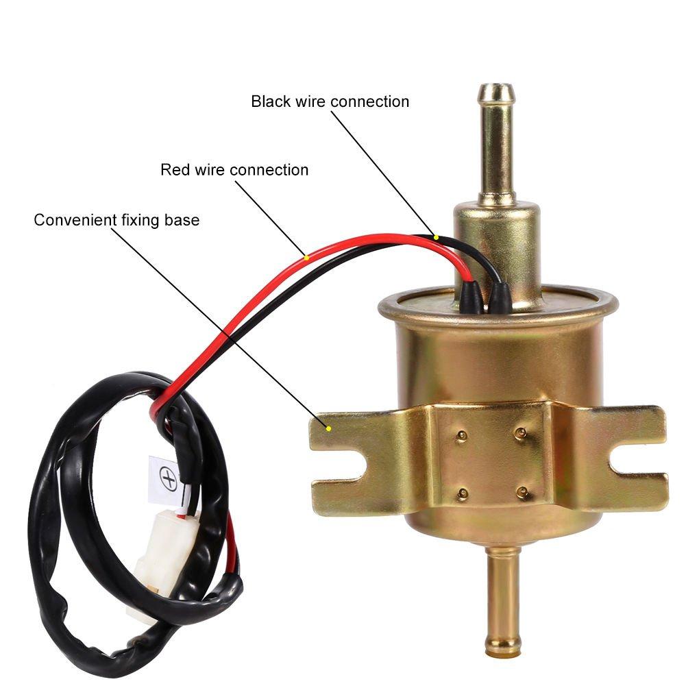 Universal Kraftstoffpumpe Benzinpumpe Elektrisch für Heizöl Benzin ...