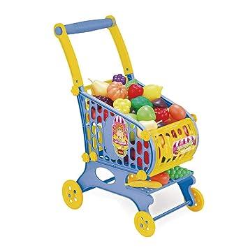 Homeng carritos de la Compra de Juguete Educativo para niños para Frutas, Verduras, supermercados