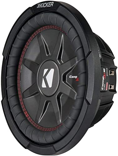 "Kicker 43CWRT102 10"" CompRT 2-Ohm Subwoofer review"