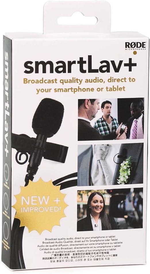 Rode SmartLav+ - Micrófono de solapa para smartphone/tablet ...