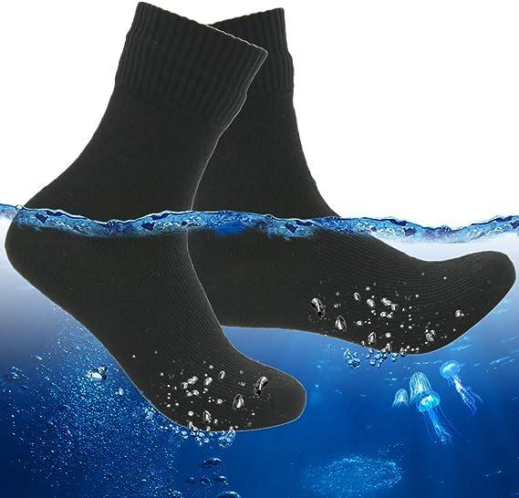 RANDY SUN Unisex Hiking 100% Waterproof Socks