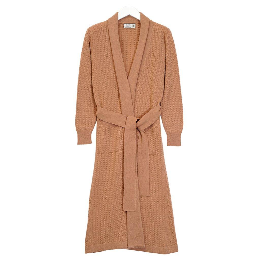 Cashmere Accappatoio con cappotto Shades House, marrone chiaro, Taglia unica