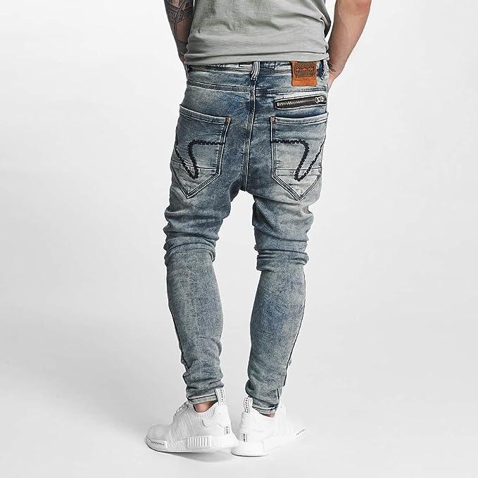 VSCT Clubwear Herren Jeans/Antifit Kyoto Jogg Bleached: Amazon.de:  Bekleidung
