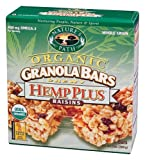 Nature's Path Foods - Hemp Plus Raisins Granola Bars, 5 bars