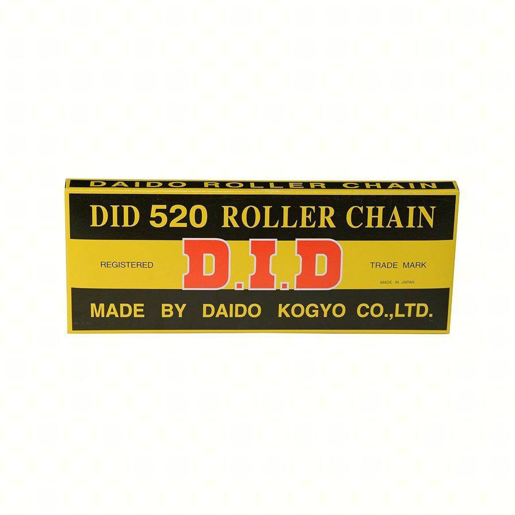 106 Glieder Kette DID Standard 520 offen Clip