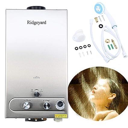 Amazon.com: Ridgeyard 3.2GPM calentador de agua 12L con ...