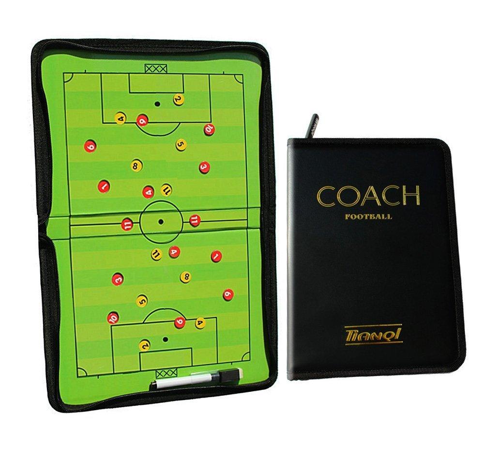 firelong fútbol de fútbol tácticas entrenadores plegable magnético estrategia Junta innovador con un write-wipe borrable bolígrafo 2 en 1: Amazon.es: ...