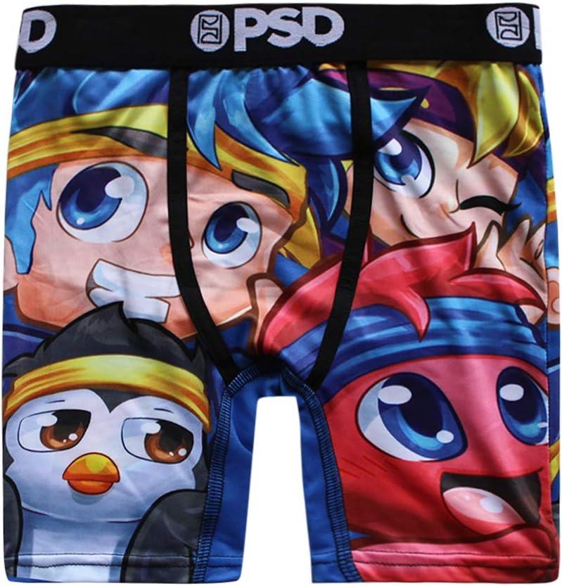 PSD Underwear Ninja Friends Youth Boxer Briefs