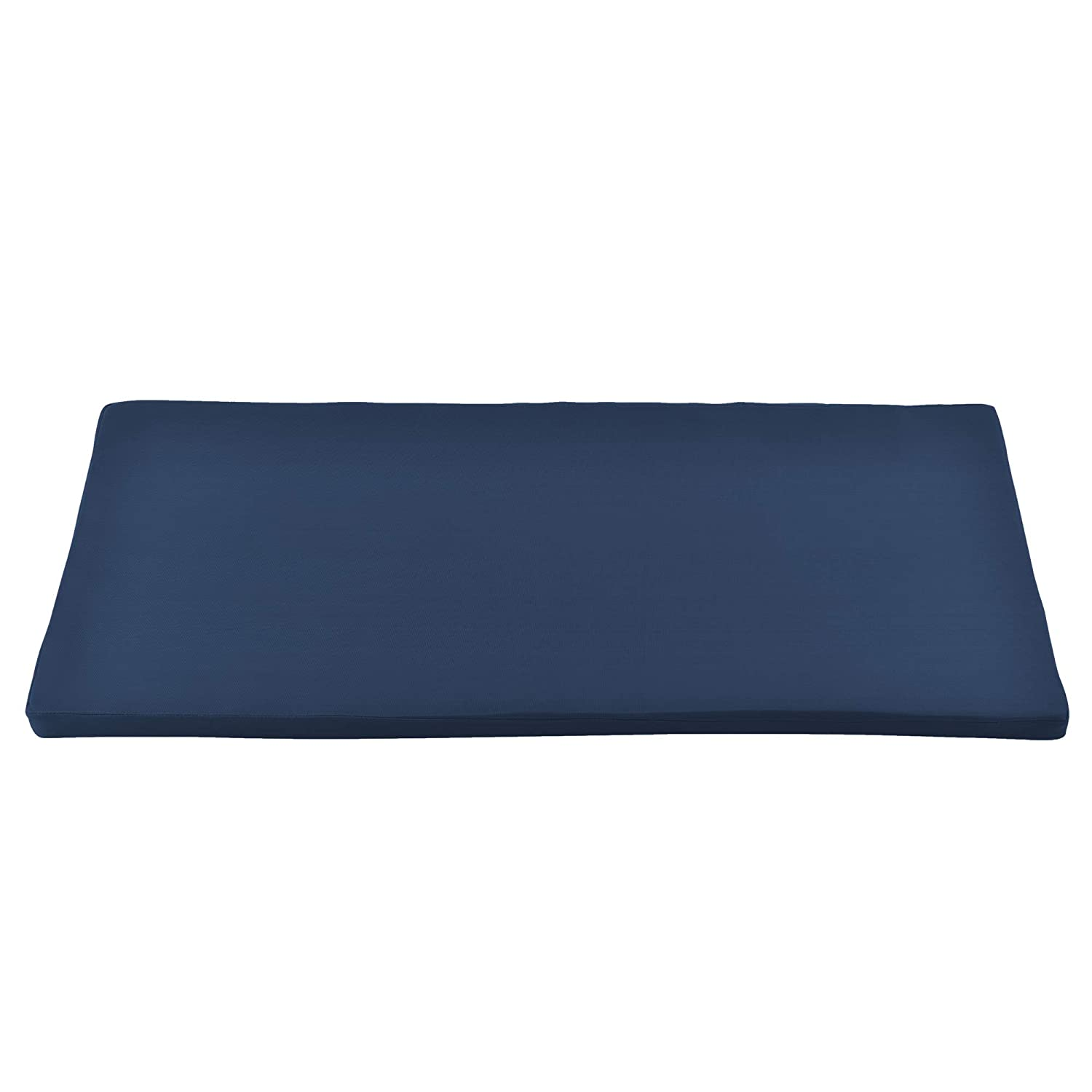 neu.haus Outdoor Bench Cushion Pad with Cover Dark Blue 100x48x4cm