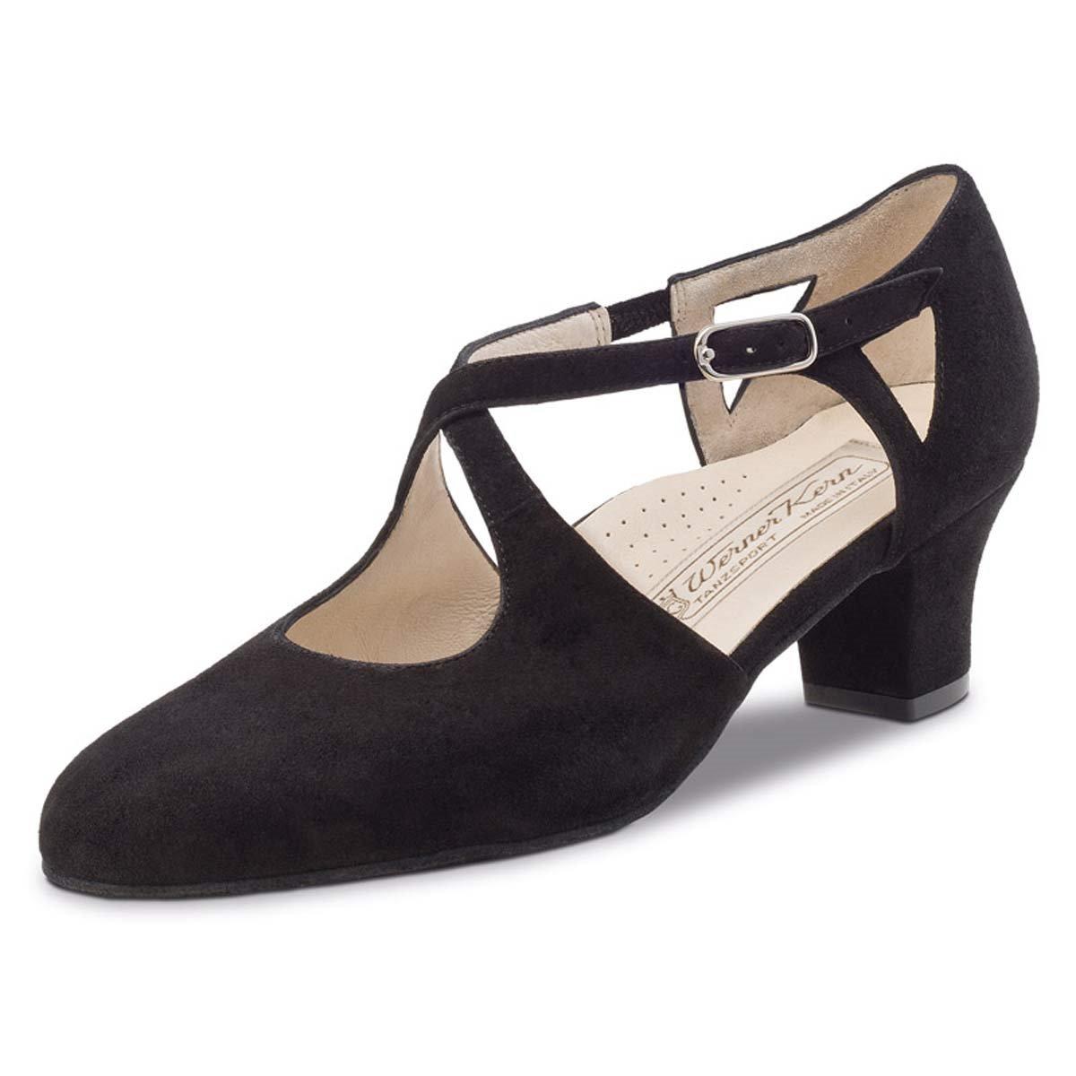 Werner Kern Gala 4, 5 Chaussures de Danse pour Femme Noir
