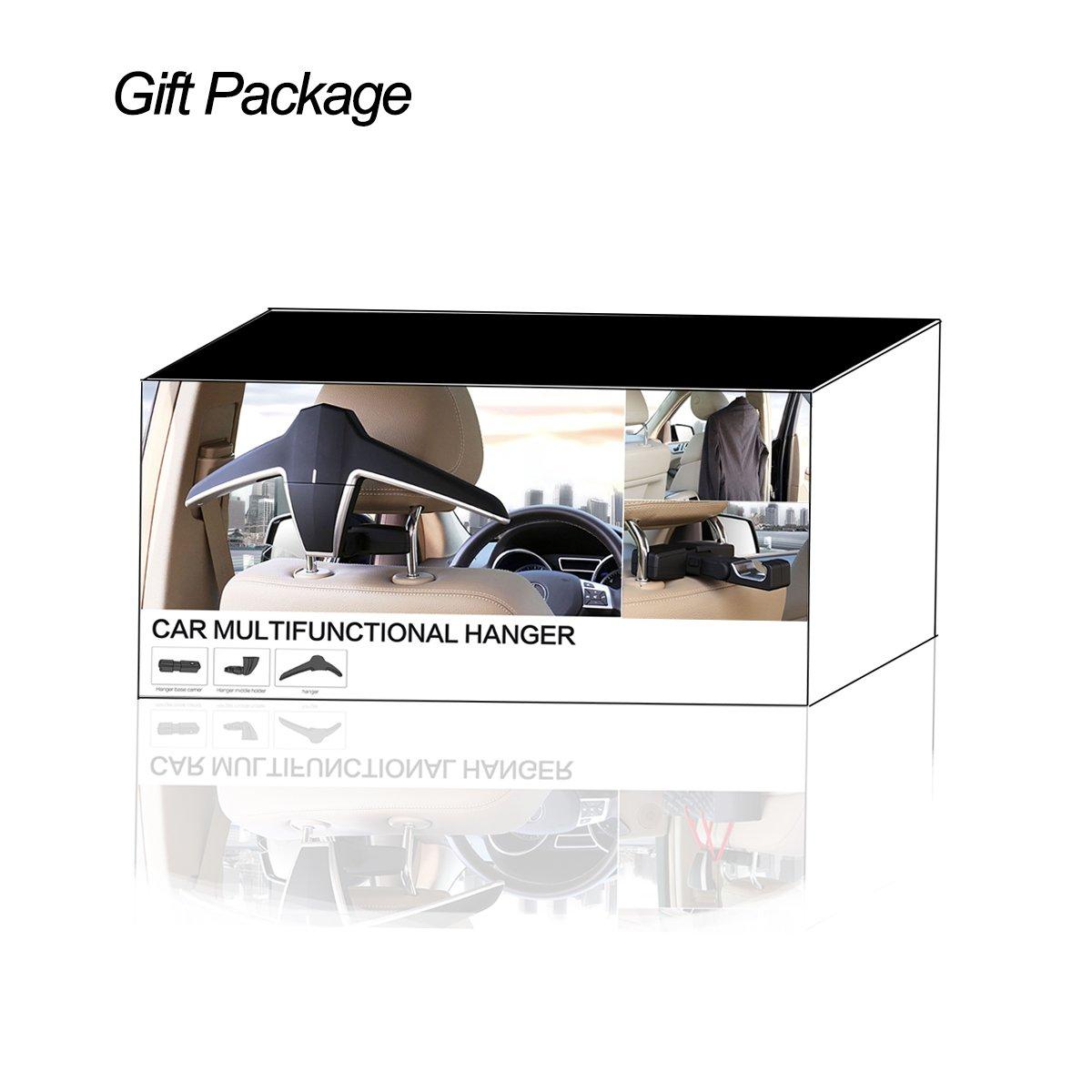 Jackets Joyart/® Car Headrest Seat Coat Hanger for Clothes Coats Shirts Suits Bags