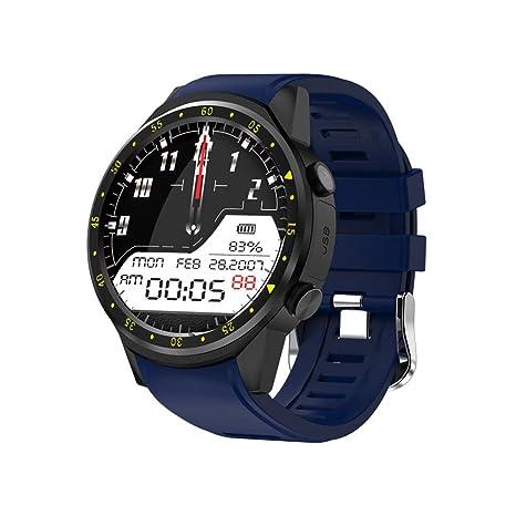 F1 reloj inteligente teléfono, reloj inteligente GPS deportes teléfono, 1.3 pulgadas Bluetooth 4.0 círculo
