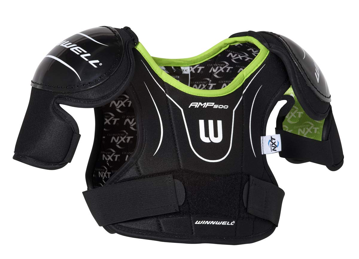 Amazon Com Winnwell Amp500 Youth Hockey Shoulder Pads With