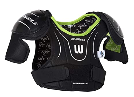 381bb486047 Winnwell AMP500 Youth Hockey Shoulder Pads with CleanSport NXT Odor Control  Technology (Youth Medium)