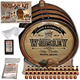 Personalized Outlaw Kit (Southern Whiskey) ''MADE BY'' American Oak Barrel - Design 103: Barrel Aged Whiskey - 2018 Barrel Aged Series (20 Liter)
