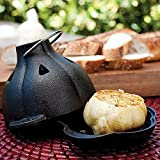 Cast Iron Garlic Roaster Set
